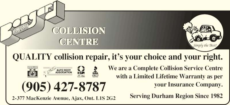 Bongard Collision Centre